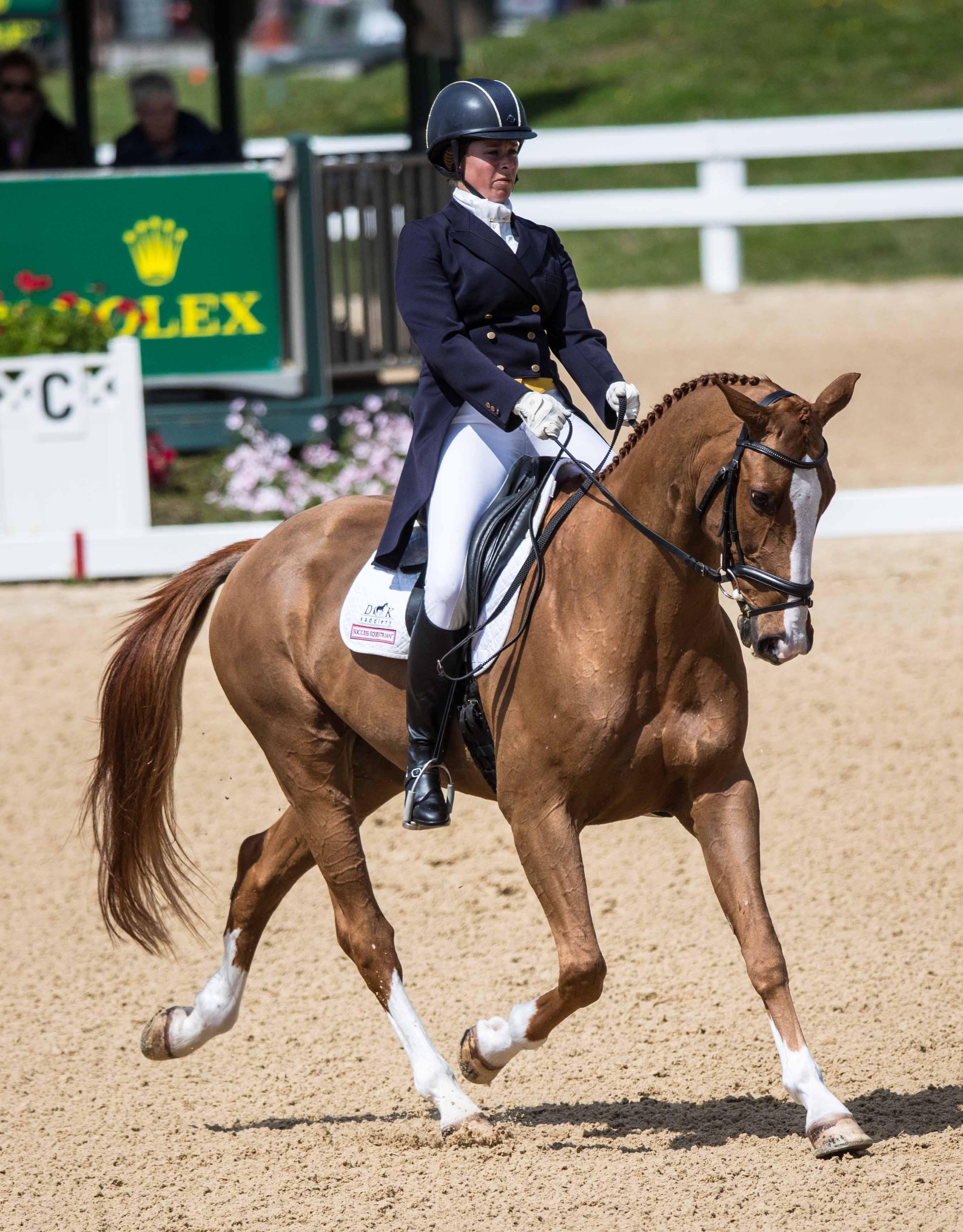 Success Equestrian Rider Lillian Heard