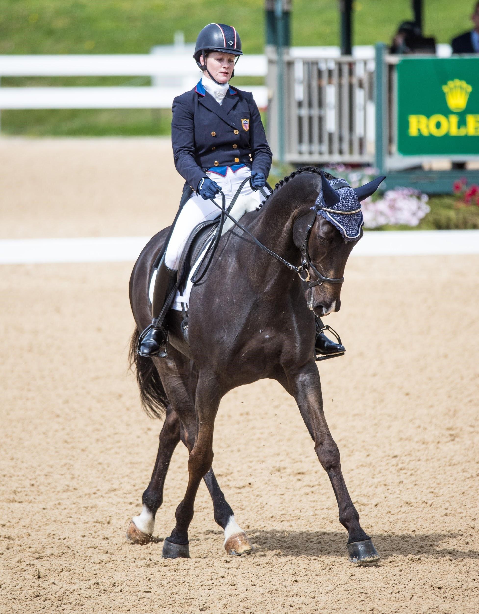 Success Equestrian Rider Kim Severson